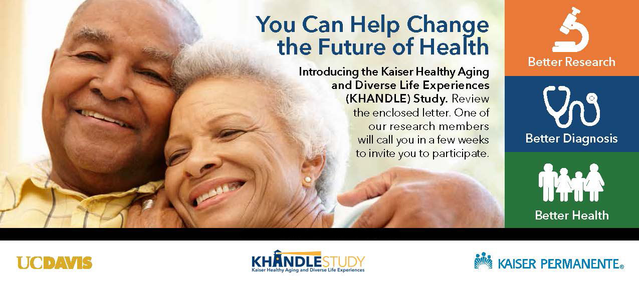 elderly african american couple on ad for KHANDLE study